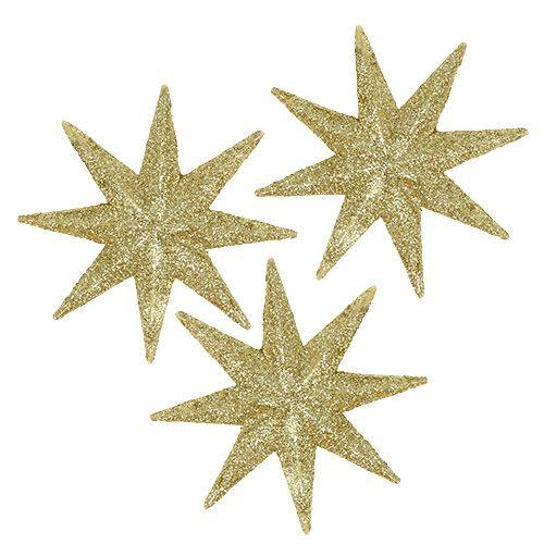 Deko-Sterne Gold Ø5cm 20St