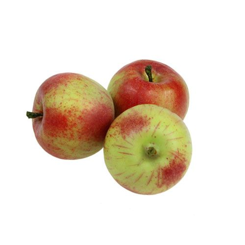 Künstliche Äpfel Rot, Grün Ø4cm 12St