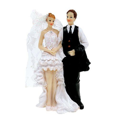 Deko Hochzeitspaar 15,5cm