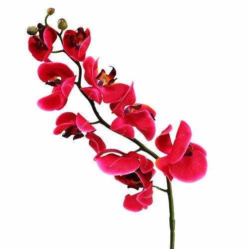 Deko Orchidee in pink 77cm