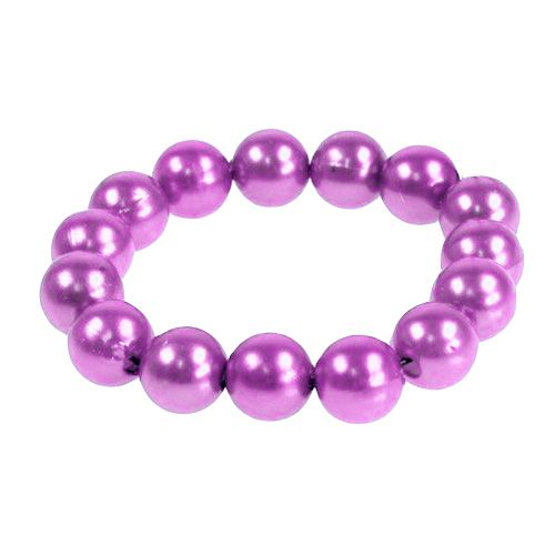 Deko-Perlen Ø8mm Violett 250St