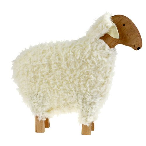 Deko Schaf Aus Holz Und Wolle ~ Deko Schaf aus Holz und Wolle ca 45,5cm, Großhandel und Lagerverkauf