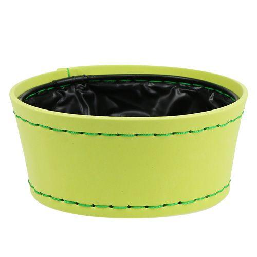 Deko Schale apfelgrün Ø20cm H9cm