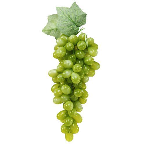 Deko Weintrauben grün 25cm
