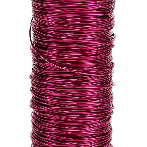 Dekolackdraht Ø0,30mm 30g/50m Pink