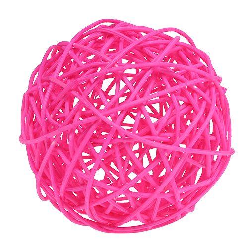 Dekoball Pink 10cm 6St