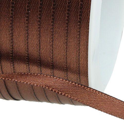 Geschenkband Braun 3mm x 50m