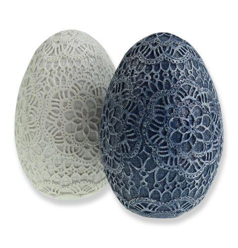 deko eier zum stehen ornamentspitze gro handel und lagerverkauf. Black Bedroom Furniture Sets. Home Design Ideas