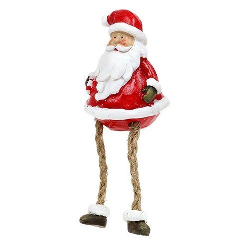 dekofigur weihnachtsmann sitzend 6 5cm l10cm 4st. Black Bedroom Furniture Sets. Home Design Ideas