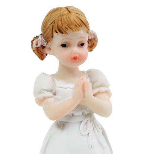 Dekofigur zur Konfirmation Mädchen 8,5cm