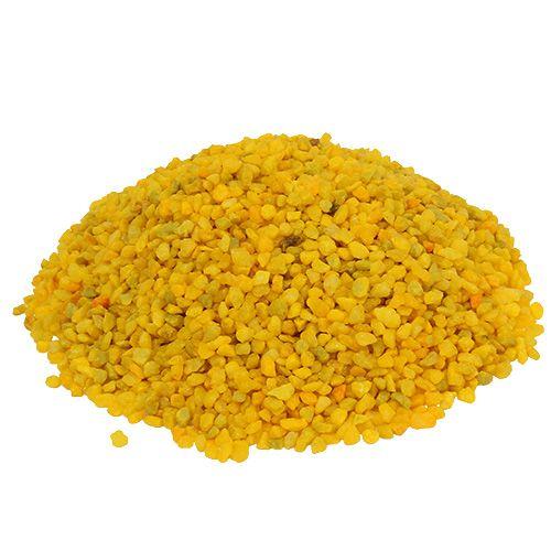 Dekogranulat Gelb 2mm - 3mm 2kg