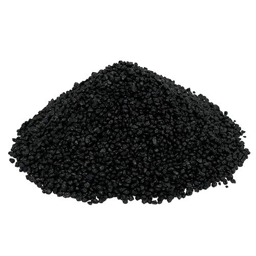 Dekogranulat Schwarz 2mm - 3mm 2kg