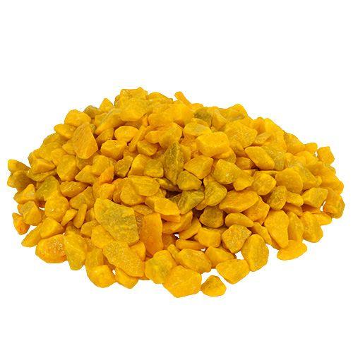 Dekosteine 9mm - 13mm Gelb 2kg