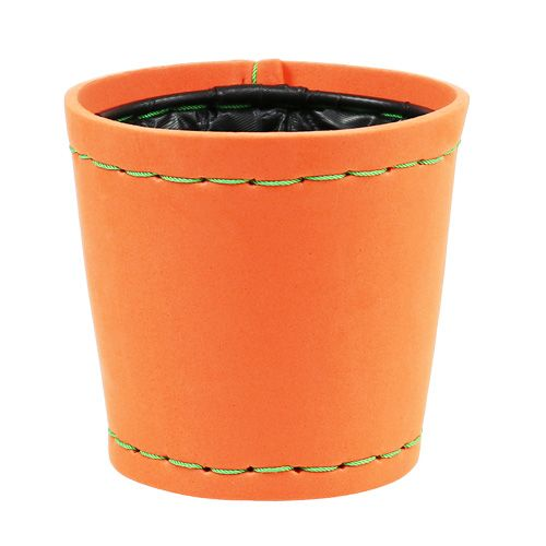 Pflanztopf orange Ø12cm H11,5cm