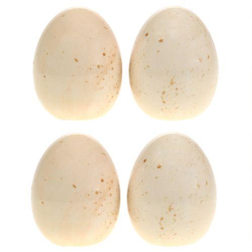 Deko Eier aus Keramik H8,5cm 4St