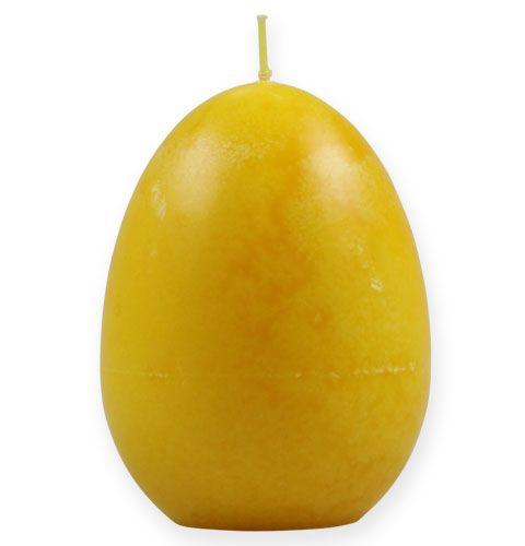 Deko-Eikerze Zitrone 14cm