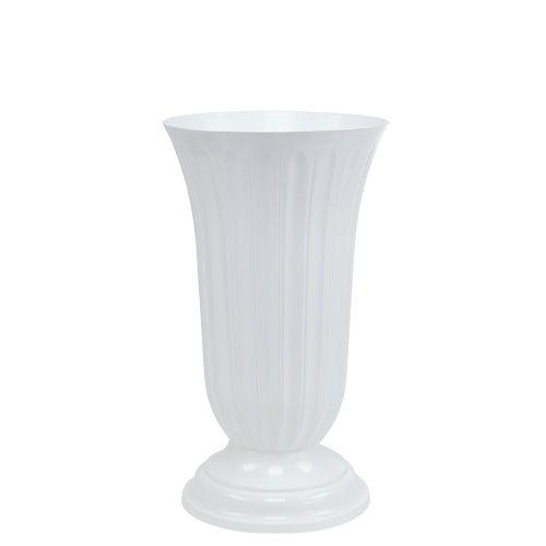Einstellvase Lilia Weiß 16cm