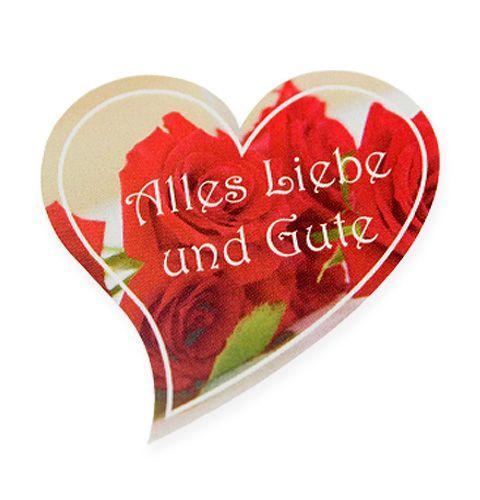 """Etiketten """"Alles Liebe und Gute""""  250St"""