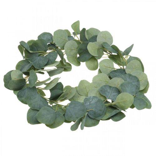 Türkranz Eukalyptus künstlich Eukalyptuskranz Ø38cm