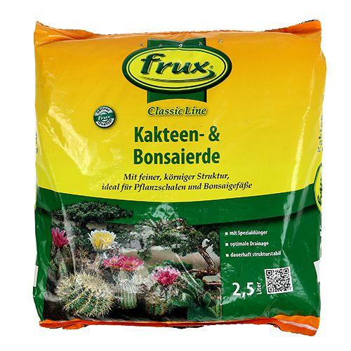 FRUX Kakteen- und Bonsaierde 2,5 Ltr.