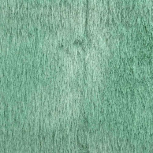 Deko Fellband Grün Kunstfell Mint Fell-Tischläufer 15×150cm