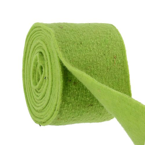 Filzband 15cm x 5m Grün