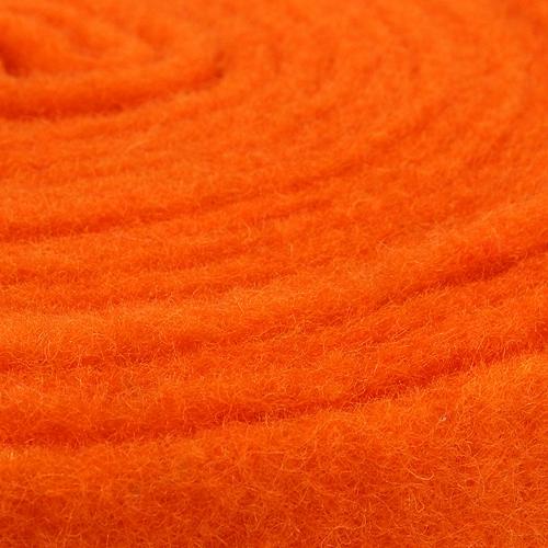 Filzband Orange 7,5cm 5m