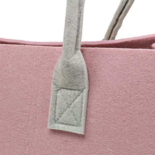 Filztasche Rosa 50cm x 25cm x 25cm