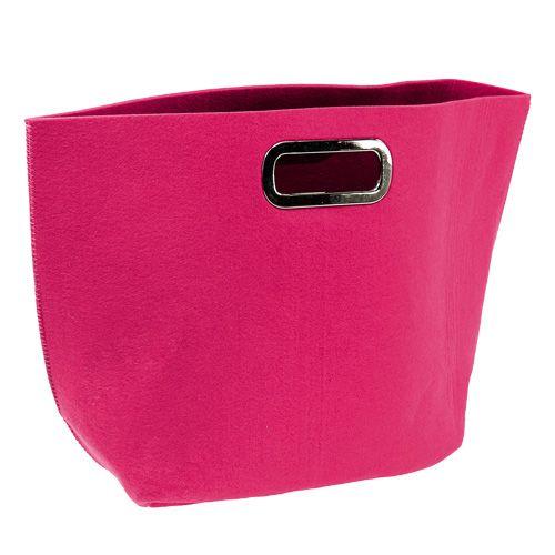 Filztasche Pink 48,5cm x 35cm x 19cm