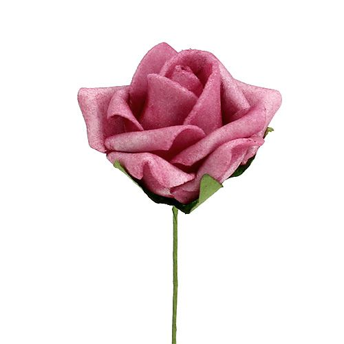 Foam Rose 4,5cm Erika 36St
