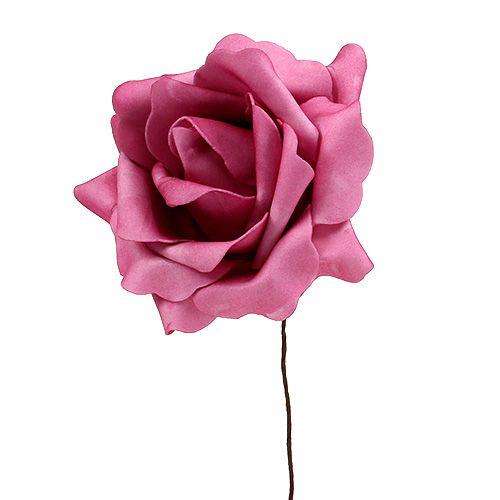 Foam Rose Erika Ø15cm 4St