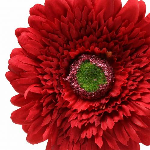 Gerbera künstlich Rot 62cm 6St