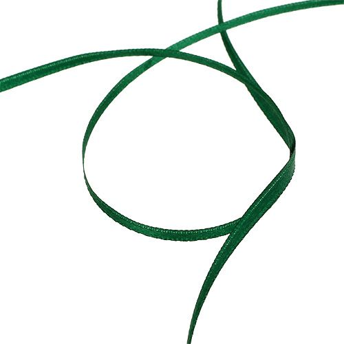 Geschenk- und Dekorationsband 3mm x 50m Dunkelgrün