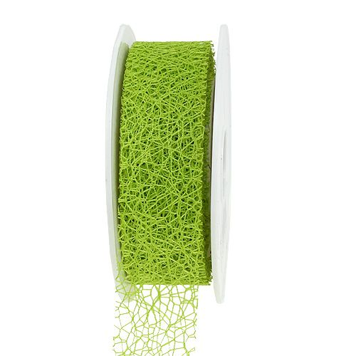 Geschenkband in Grün 3cm 10m