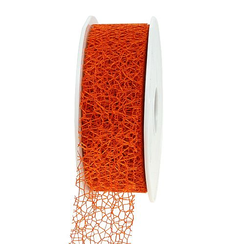 Geschenkband in Orange 3cm 10m