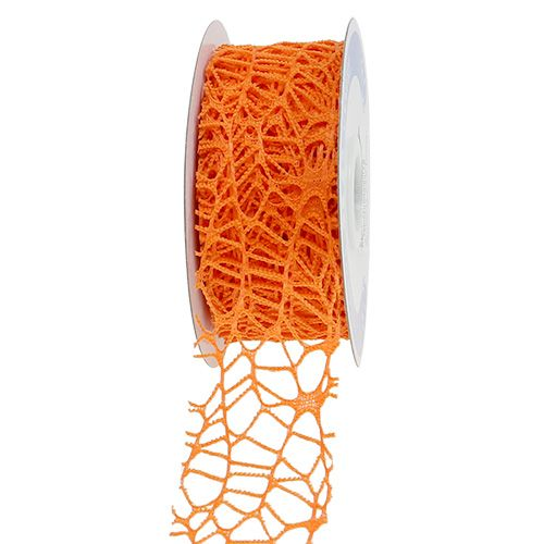 Gitterband Orange 40mm 10m
