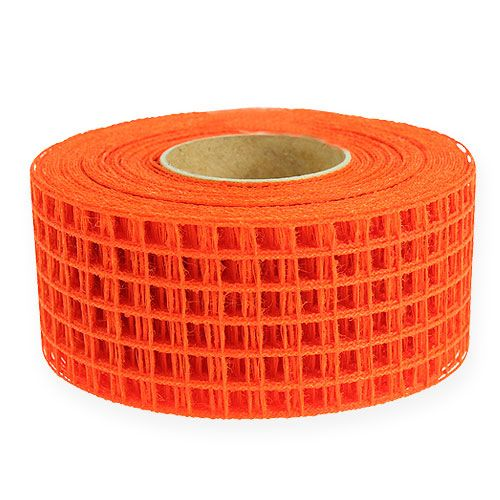 Gitterband 4,5cm x 10m Orange