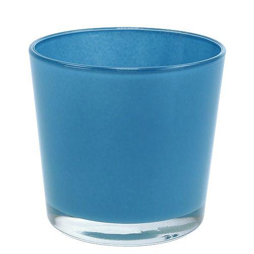 Glaskübel Hellblau Ø11,5 H11cm