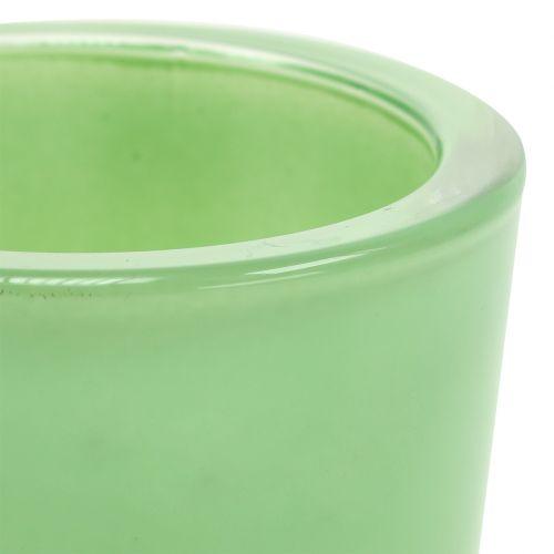 Glastopf Ø7,8cm H8cm Mintgrün