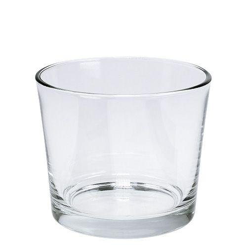 Glastopf Ø10cm klar 12st