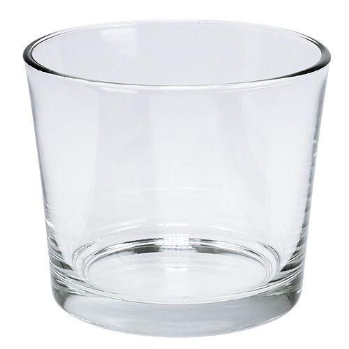 Glastopf Ø14,5cm klar 6St