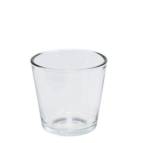 Glastopf 7cm klar 12St