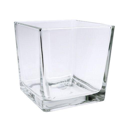 Glaswürfel klar 12cm x 12cm x 12cm 6St