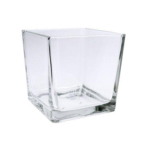 Glaswürfel klar 10cm x 10cm x 10cm 6St