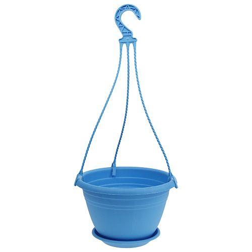 "Hängeampel ""Galicia"" Ø25cm Blau"
