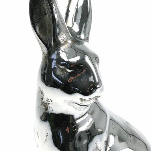 Hase Silber Antik H31cm
