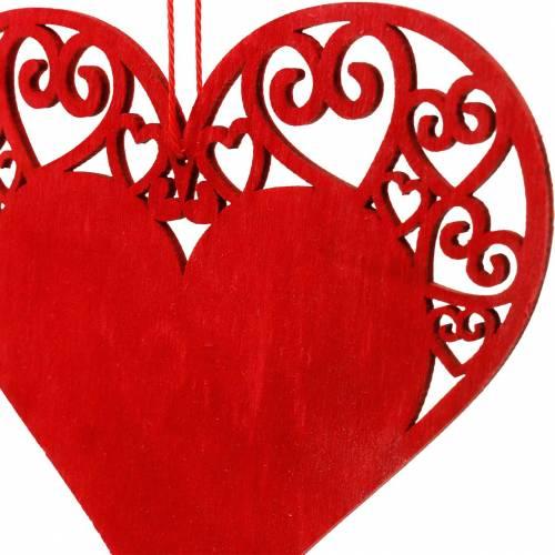 Herz zum Hängen, Hochzeitsdeko, Schmuckanhänger Herz, Herzdeko, Valentinstag 12St
