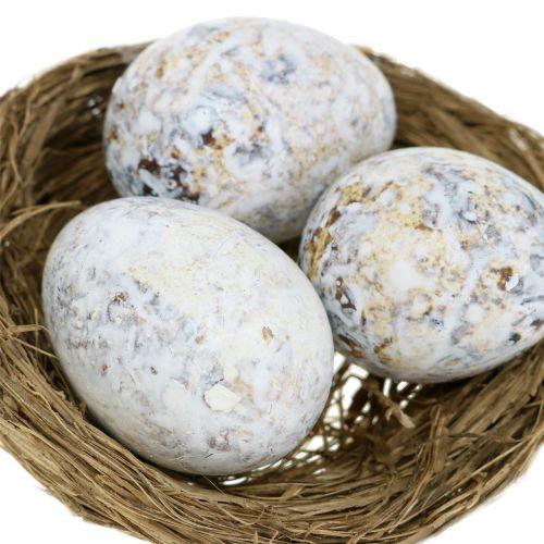 Eier Sortiment Gans, Huhn und Wachtel 3,5cm – 8cm 12St