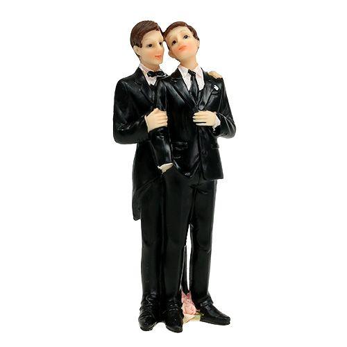 Hochzeitsfigur Männerpaar 17 cm