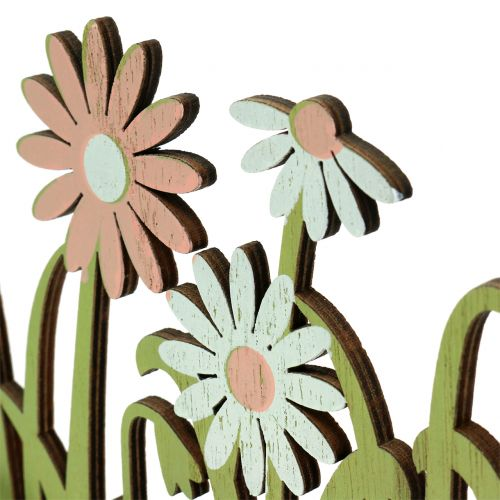 Holzaufsteller Frühling mit Hahn 21cm